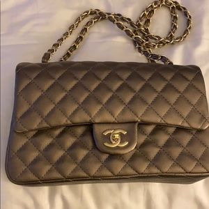Chanel bag. Had it for months and only wore twice.